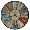 Howard Miller Sylvan II 620-503 : Wall Clocks Non-Chiming
