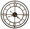 Howard Miller York Station 625-299 : Wall Clocks Oversized