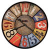 Howard Miller County Line 625-547 : Wall Clocks Oversized
