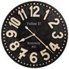 Howard Miller Fulton Street 625-557 : Wall Clocks Oversized