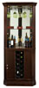 Howard Miller Piedmont III 690-007 : Curio Display Cabinets Wine & Bar